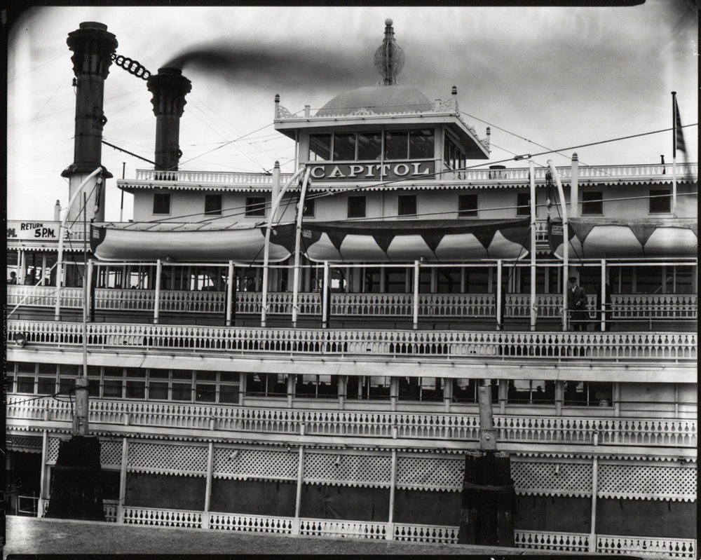 WALKER EVANS,  River Boat, Louisiana,  1936