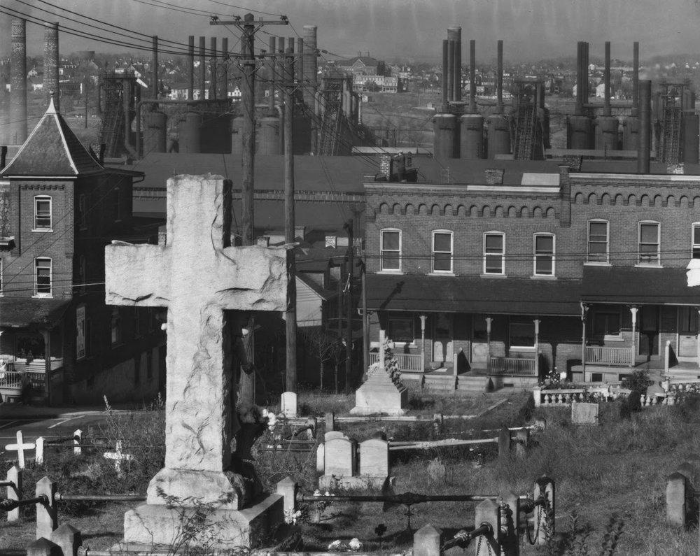 WALKER EVANS,  Bethlehem, Pennsylvania , 1936