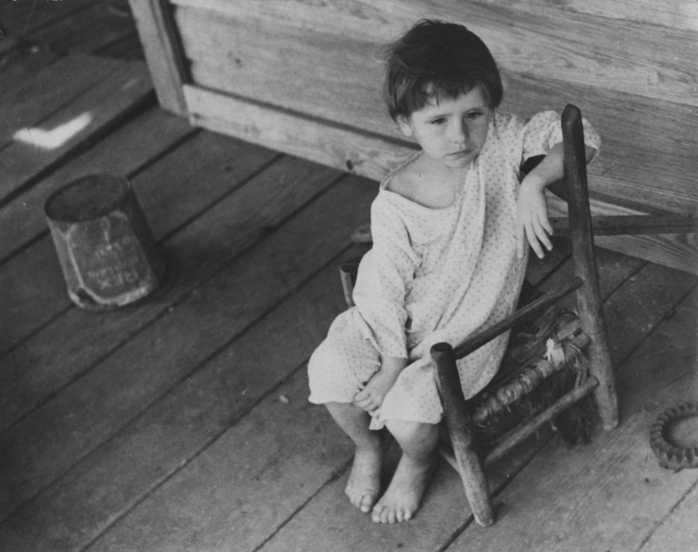 WALKER EVANS,  Laura Minnie Lee Tengle, Hale County, Alabama , 1936