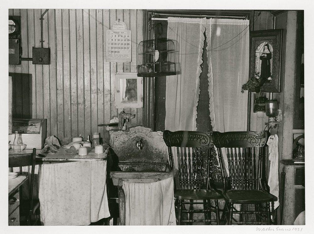 New York City Tenement Kitchen