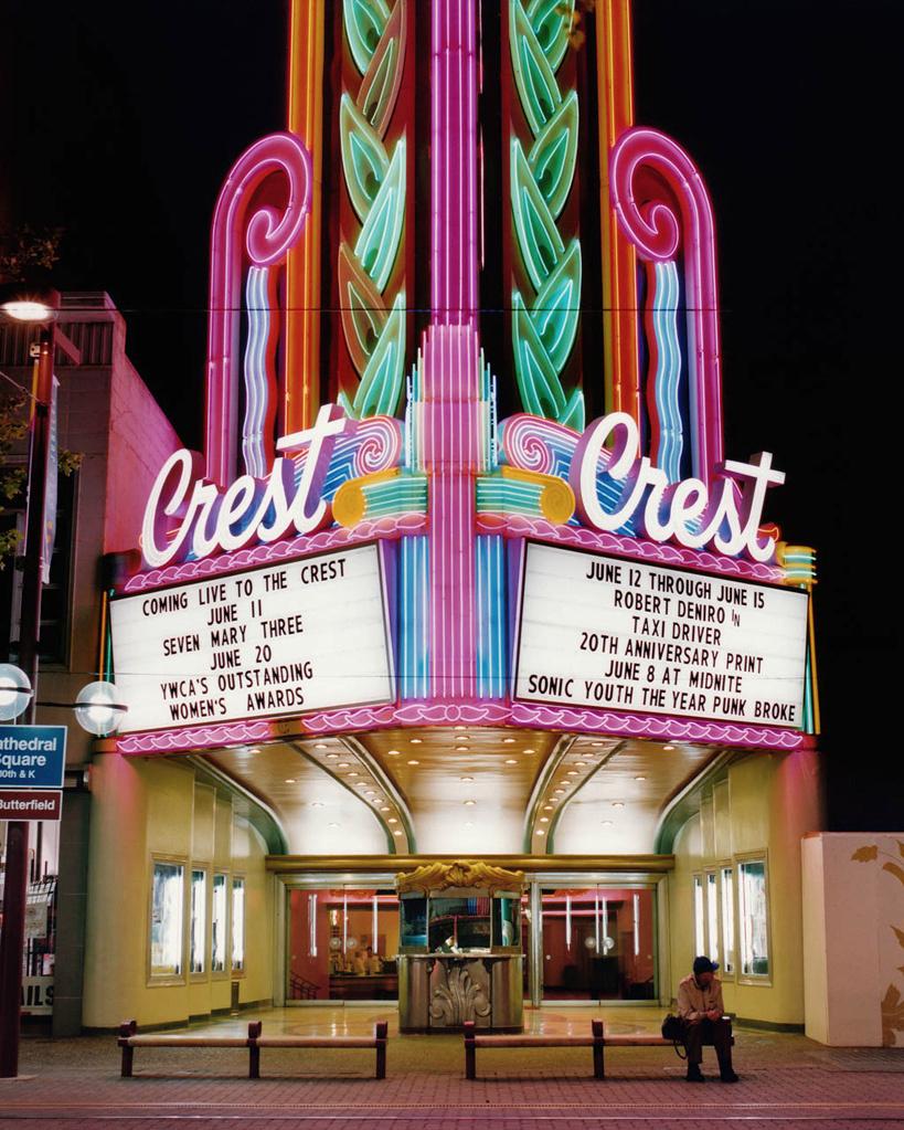 STEFANIE KLAVENS,  Crest Theatre, Sacramento, California