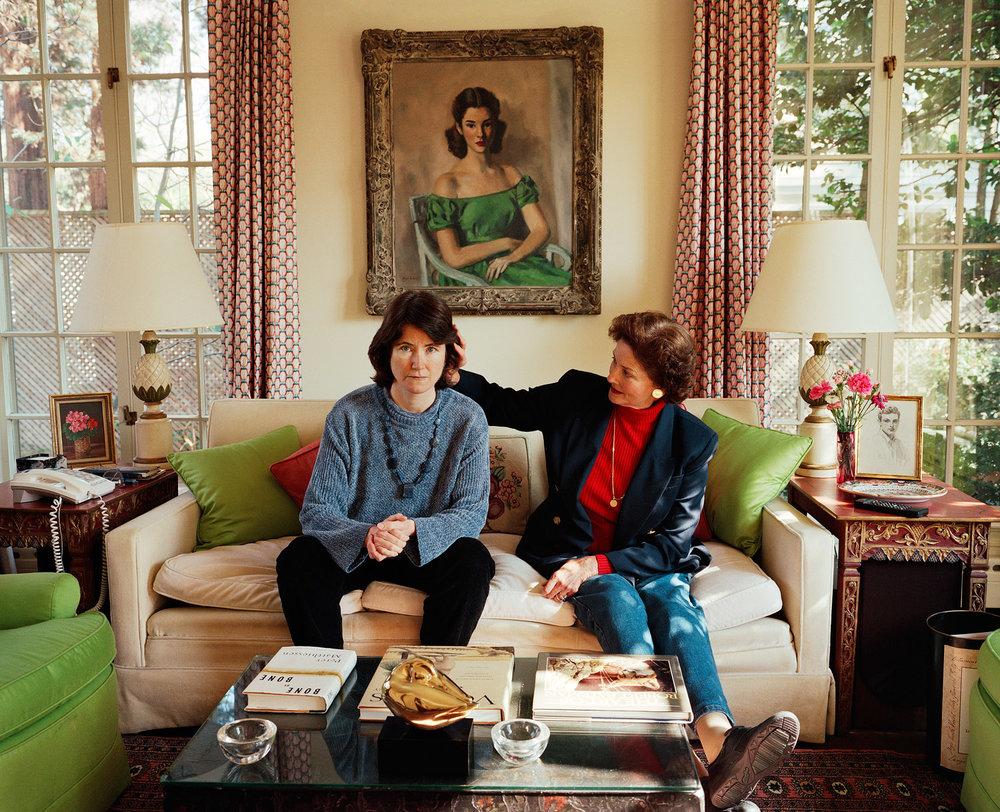 SAGE SOHIER,  Self-portrait with Mum, Washington, D.C. , 2000