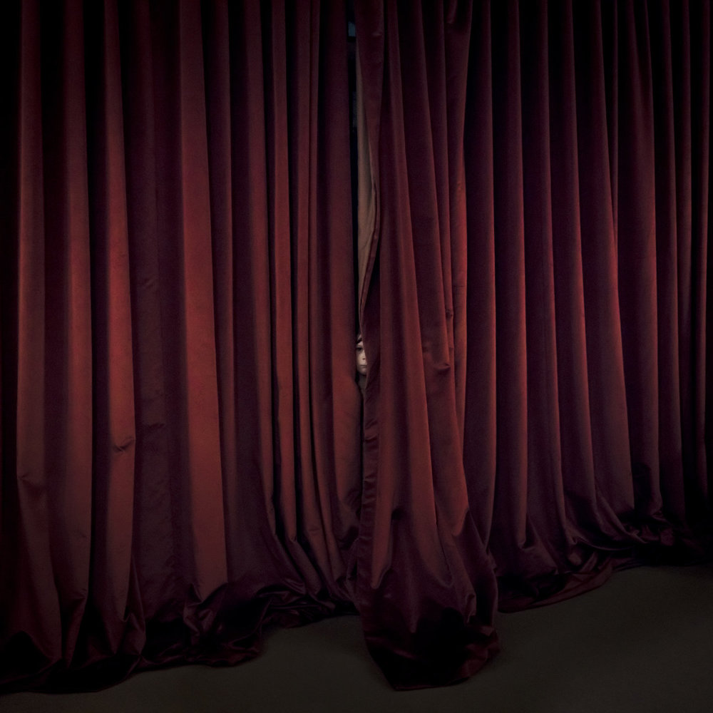 CIG HARVEY,  Red Curtain , 2017