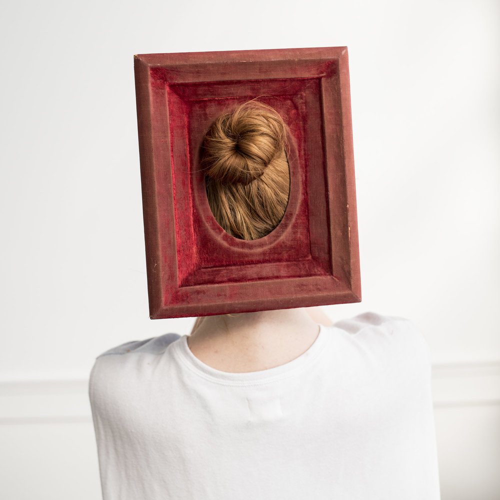 CIG HARVEY,  Red Velvet Frame , 2016