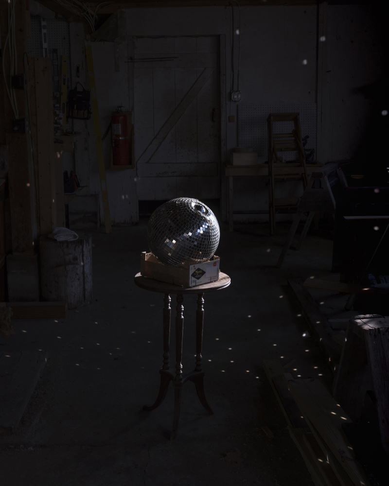 CIG HARVEY,  Disco Ball, Camden, Maine,  2018