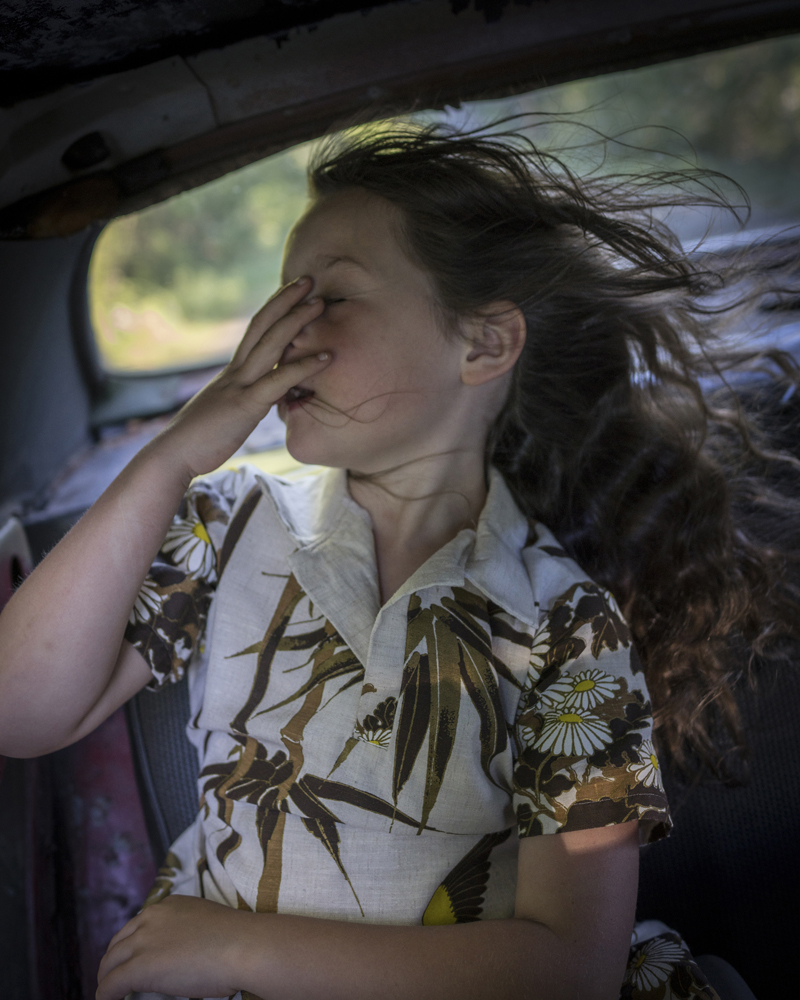 CIG HARVEY,  Scout in The Wind,  2018