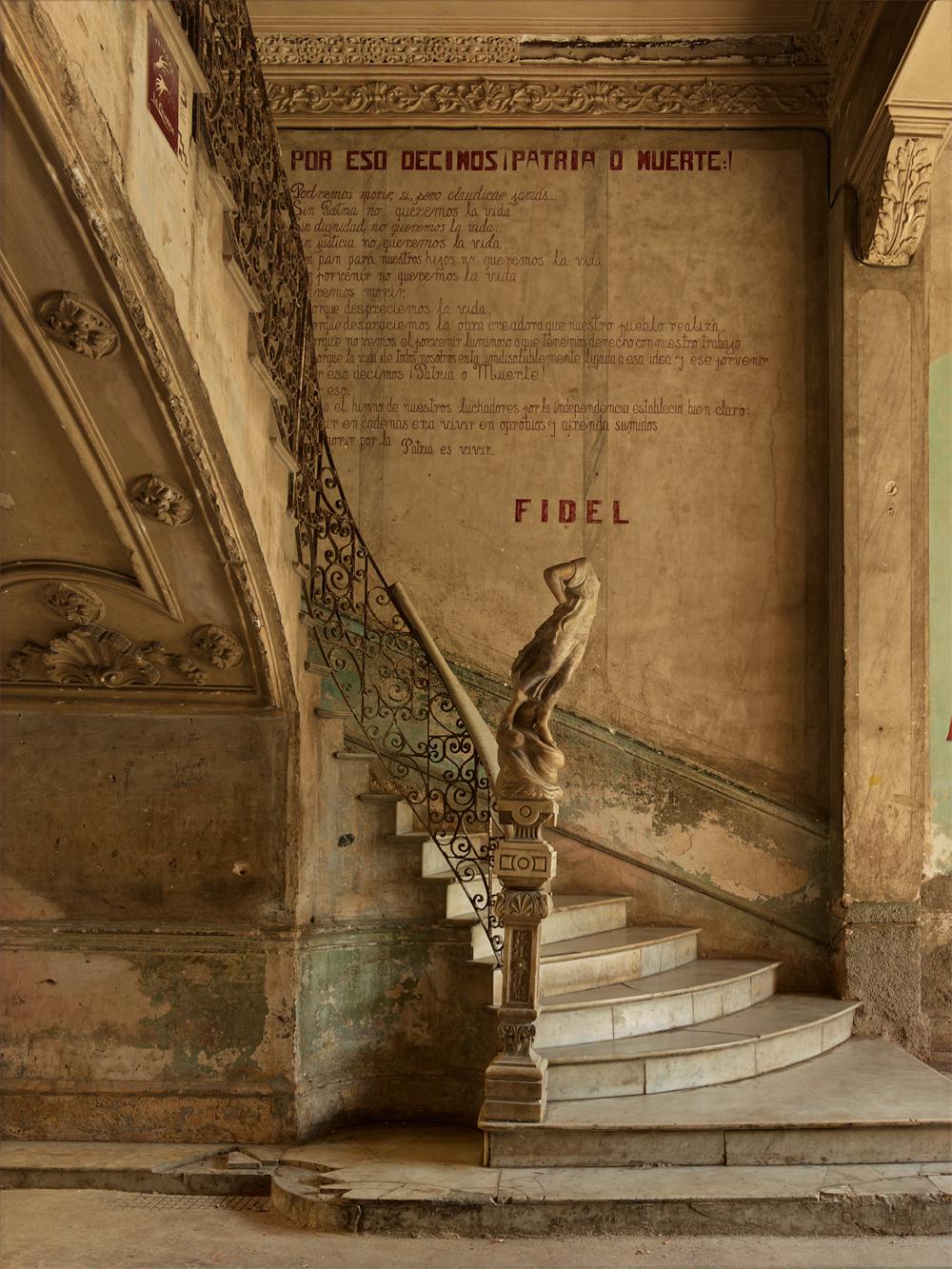 MICHAEL EASTMAN,  Fidel's Last Stairwell , 2014