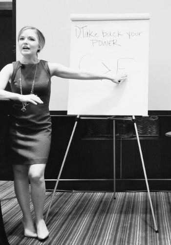 Courtney Elmer Success Women's Conference Motivational speaker