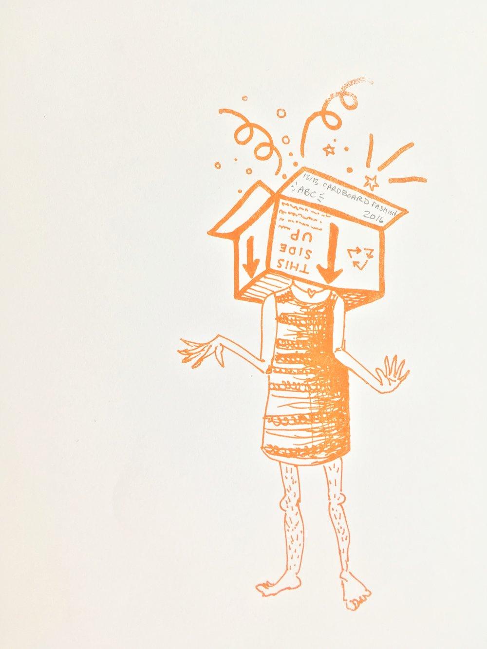 Cardboard Fashion