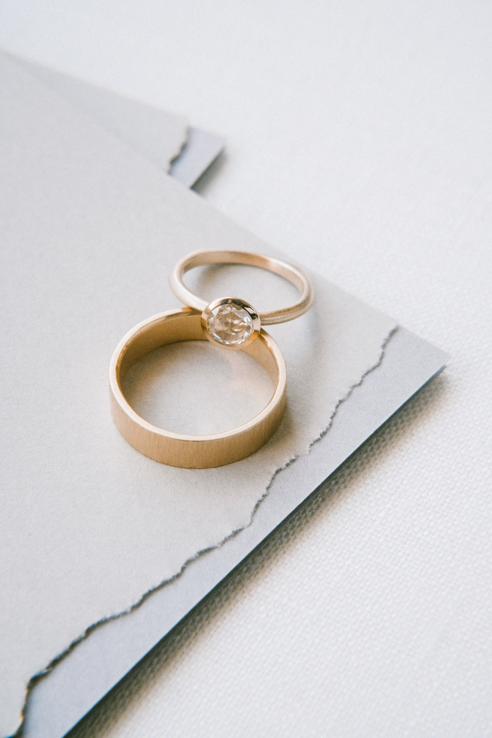 DEAR GRAY   Simple, romantic elopement morning...