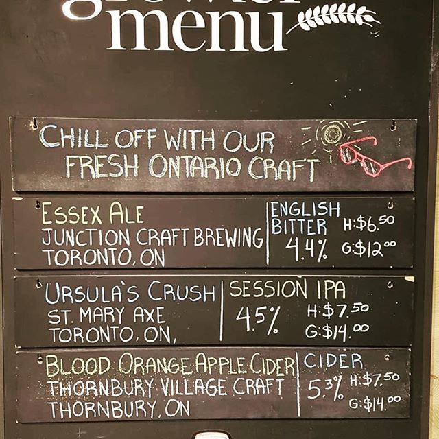 Ursula's Crush now on tap at the LCBO Summerhill growler program.  Limited time only!  @lcbo @summerhillgrowlers #ontariocraftbeer #ontcraftbeer #torontocraftbeer #lcbo #smxbeer #ursulascrush