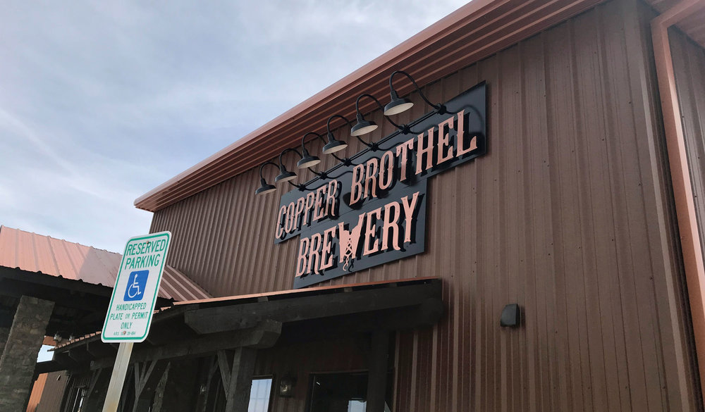 Copper Brothel Brewery General Contractor: Mega Trend Construction Mechanical, Electrical and Plumbing