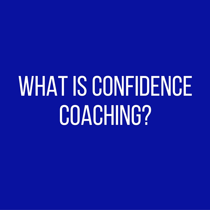 What is Confidence Coaching-