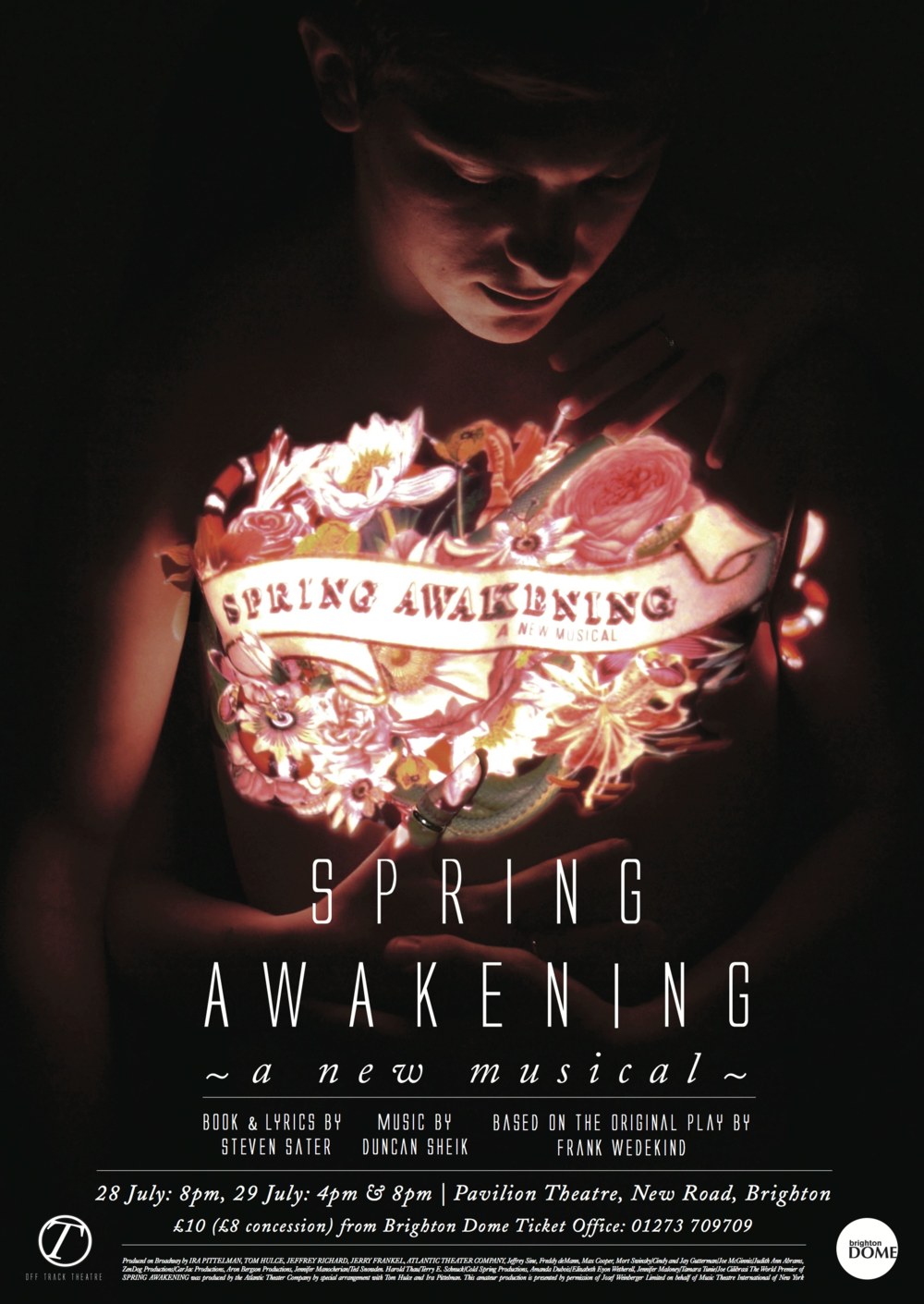 Spring Awakening artwork, Brighton Festival 2012, musical director - Jude Obermüller