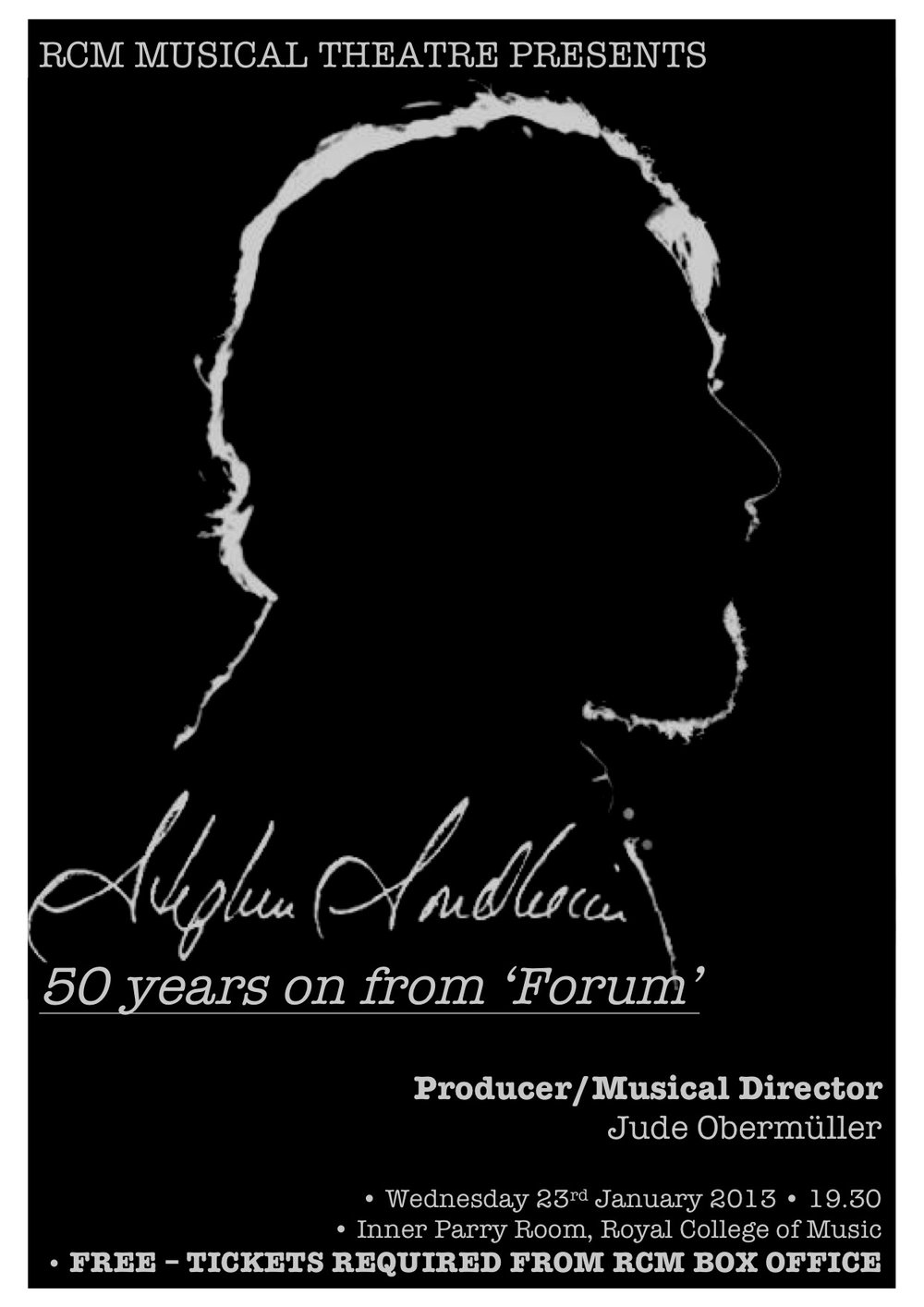 Sondheim: 50 years on from 'Forum'