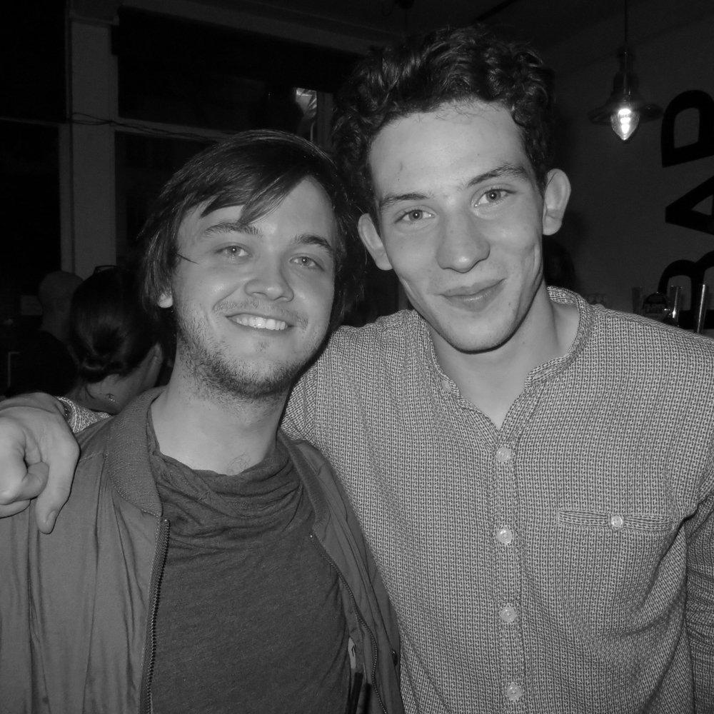 with Josh O'Connor