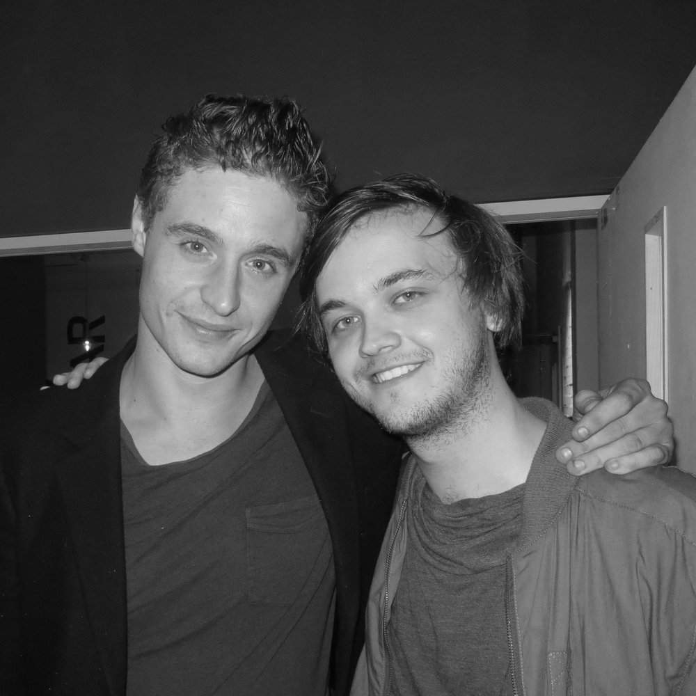 with Max Irons