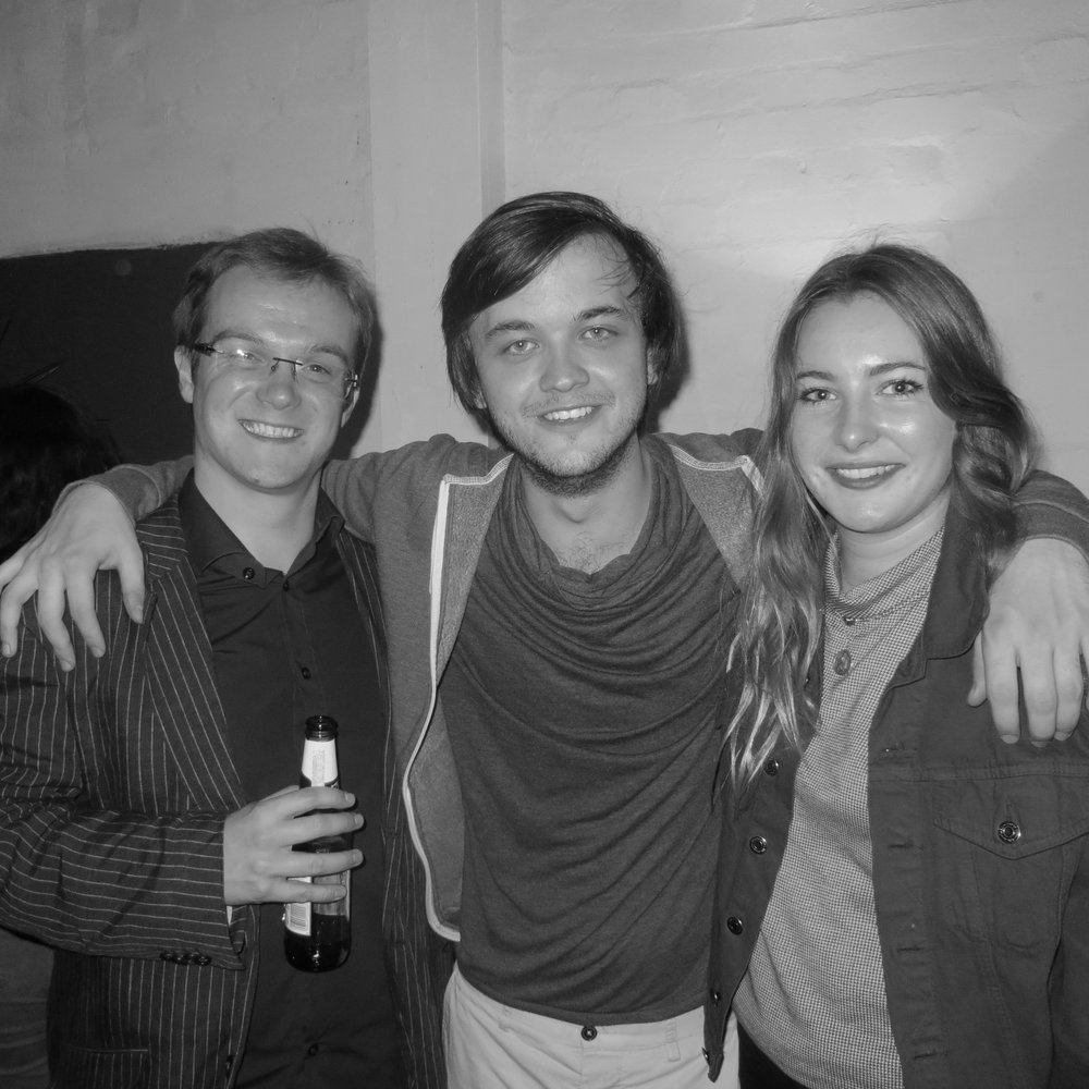 with FN musicians, John Gregson (guitar) & Sophie English (cello)