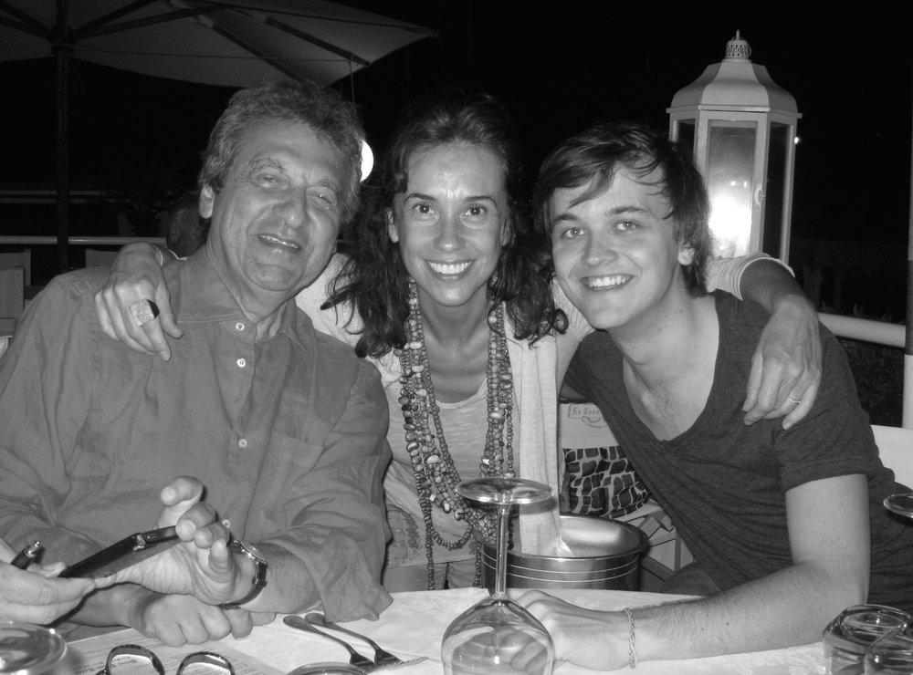 Alain Boublil, Marie Zamora & Jude Obermüller (Tuscany, Summer 2012)