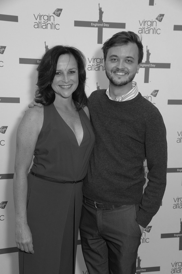 with Sally Ann Triplett (photo: James Higgins)