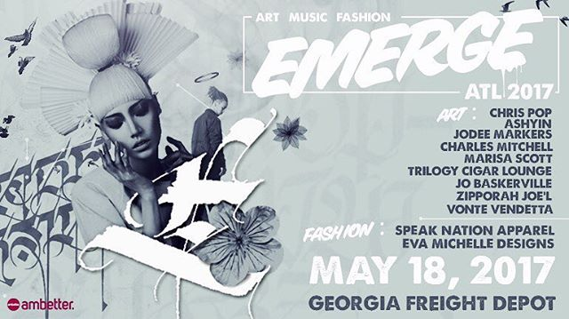 Take a dope art party and mix in some fashion, music, live performances and you get @v103atlanta's EMERGE next Thursday! 7p-10p/ Tickets ON SALE NOW  @ www.xorbia.com ✖️ #Artshow #AtlantaArt #AtlantaFashion #AtlantaMusic