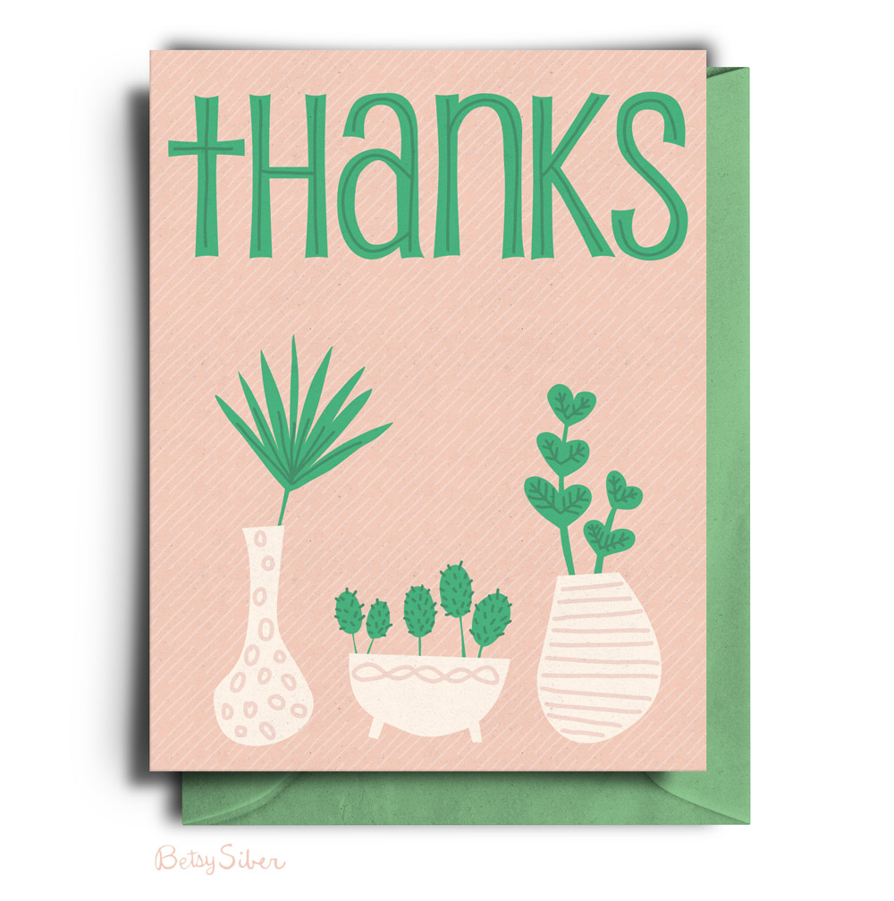 Planty of Thanks