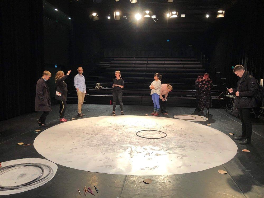 Cirkolla, residenssijakson jälkeinen demo 8.11.2018 Kuva: Maria Hiukkamäki