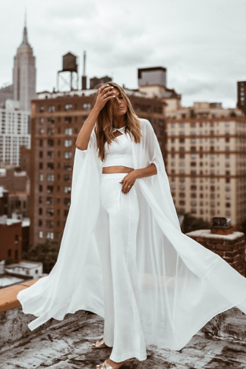 BHLDN X By Tezza  - Two Piece Jumpsuit