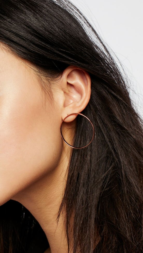 Free People - Front Hoops