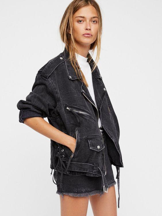 Free People - Oversized Denim Jacket