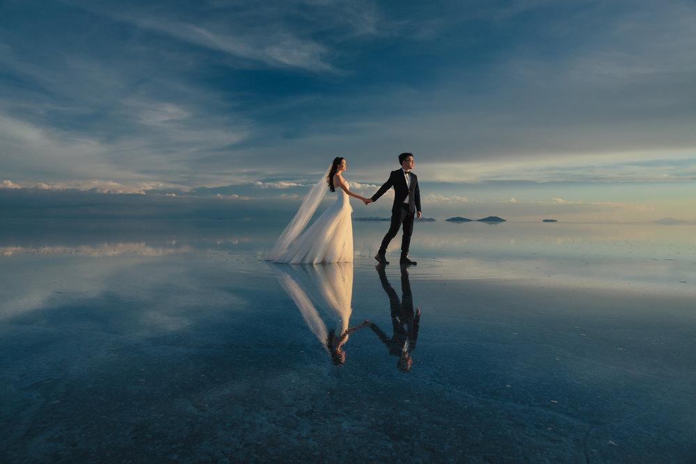 Bolivia Salt Flats Elopement - The Wedding Squad