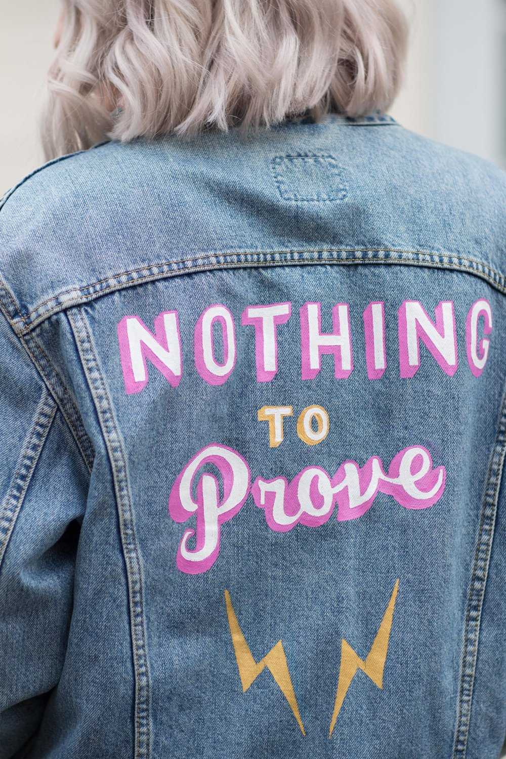 NothingtoProve - Jess Withey - Daisy Emerson - Customisation
