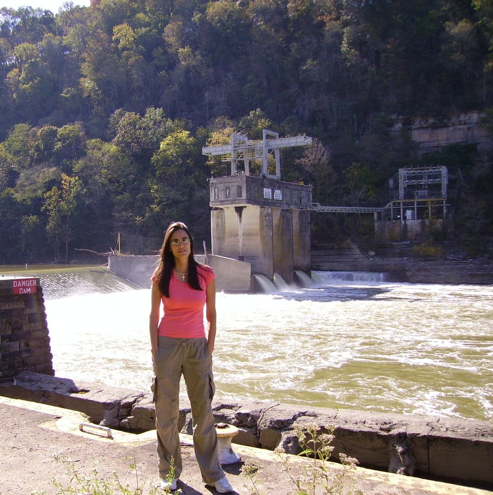 Lock 8 on the Kentucky River