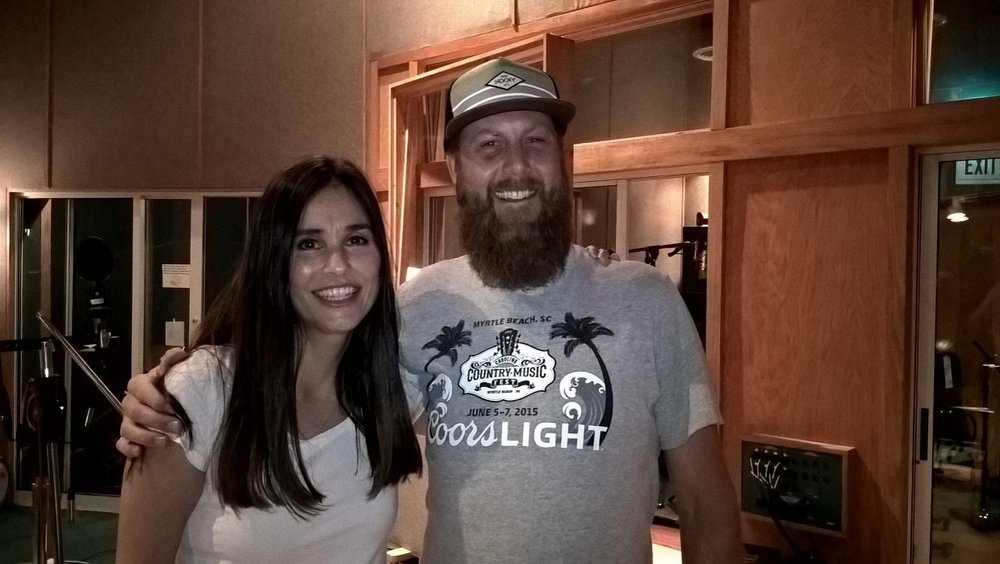 "Susanna with Jack ""Jay"" Gorman at The Sound Kitchen"