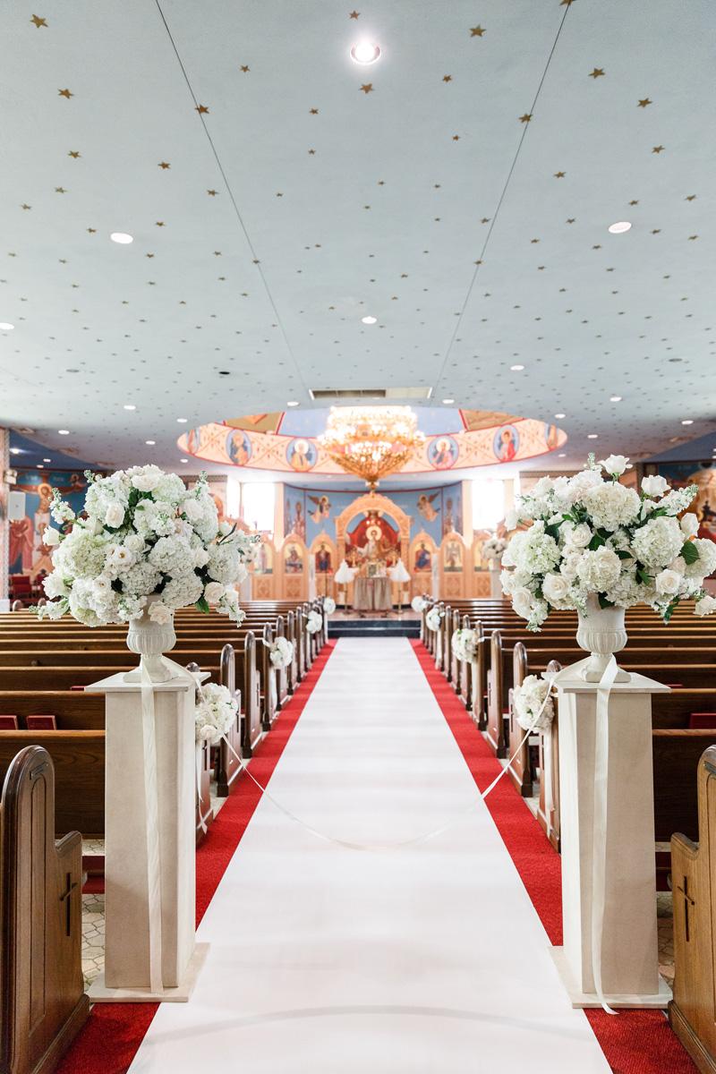 St. Demetrios Greek Orthodox Church Wedding | Stephanie + Peter ...