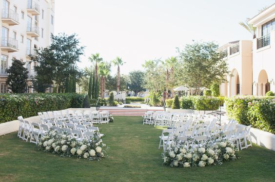 Alfond Inn Lawn Wedding Ceremony