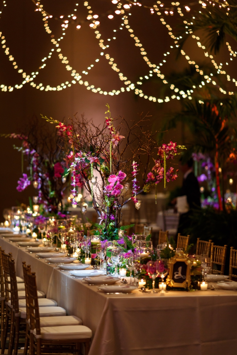 Fern Gully Wedding Reception | Lisa Stoner Events | Ritz Carlton Orlando