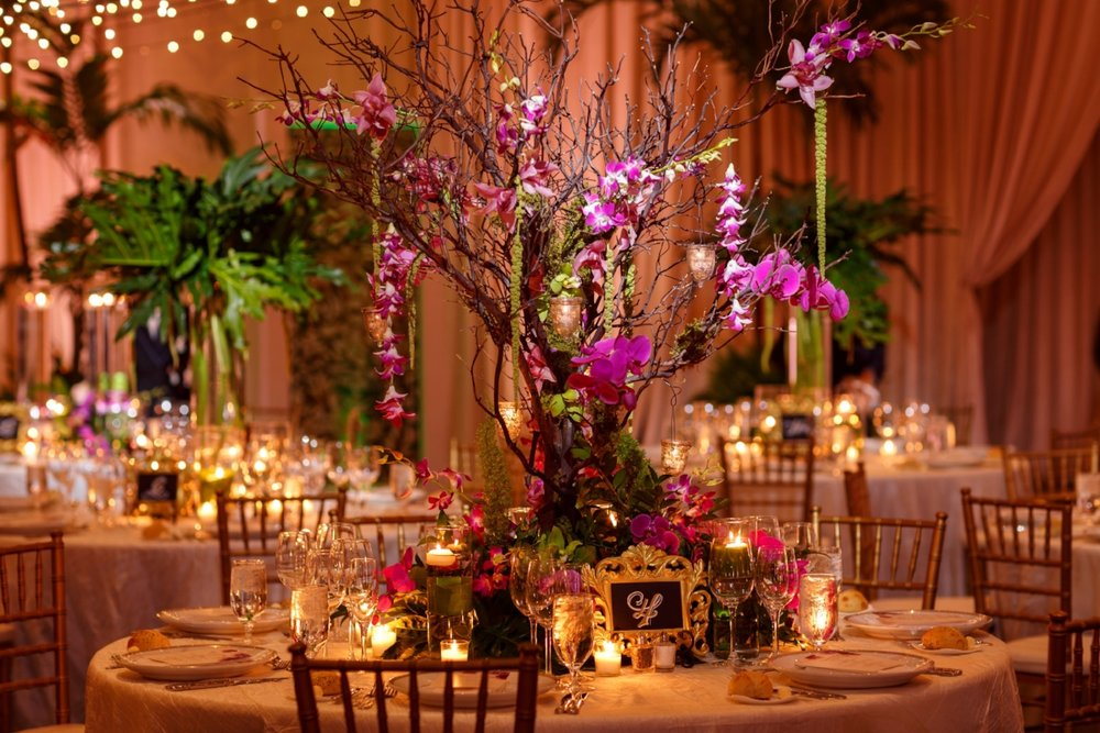 Ritz Carlton Orlando Wedding Reception | Lisa Stoner Events