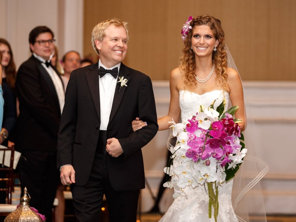 Bride's Processional | Lisa Stoner Events