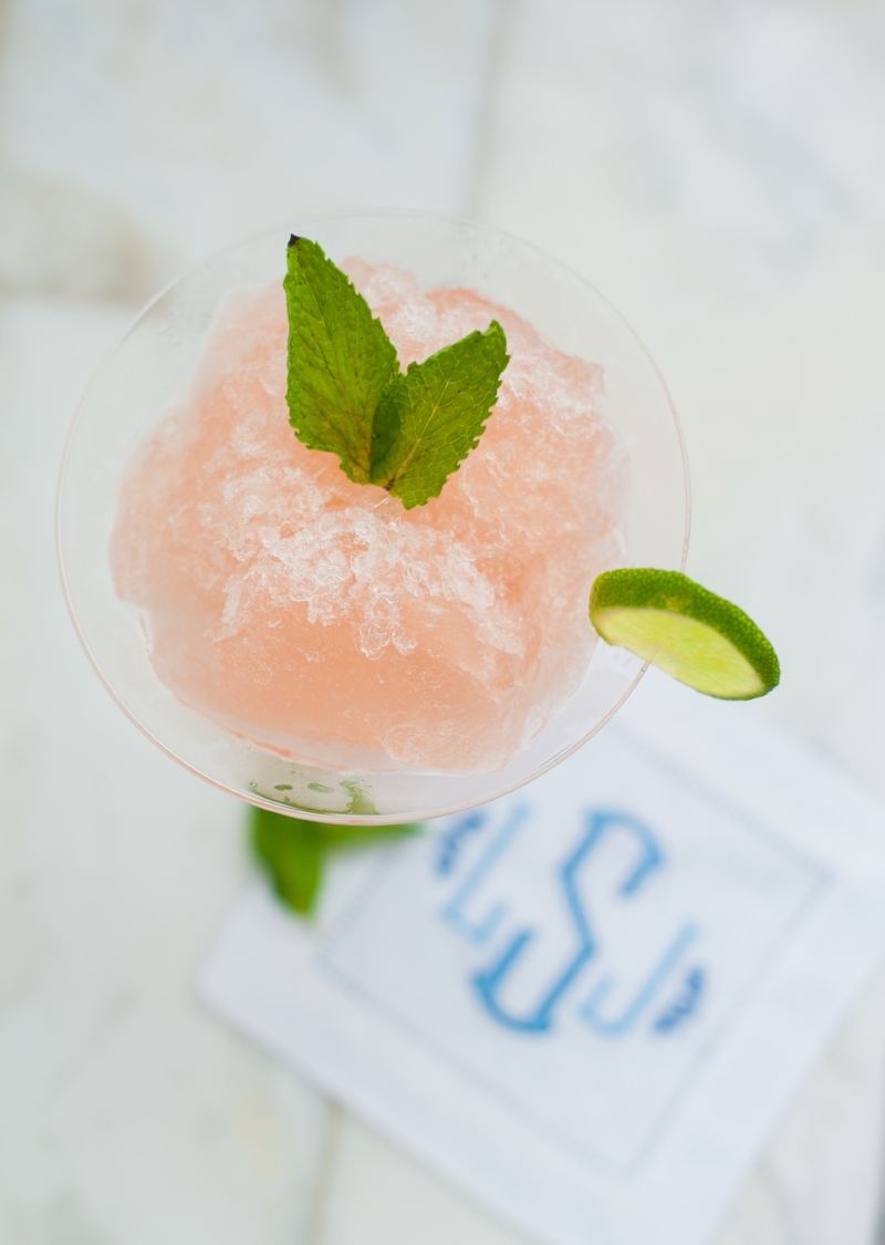 Bastille day Cocktails || Frosé || Lisa Stoner Events