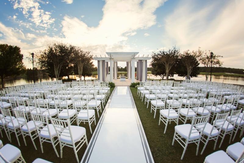 Modern Wedding Ceremony || Ritz Carlton Orlando Wedding Gazebo || Lisa Stoner Events || Root Photography.JPG