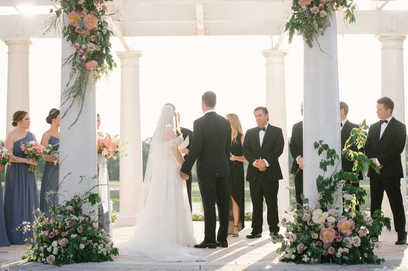 Ritz Carlton Orlando Wedding Gazebo || Lisa Stoner Events || Velvet & Twine || Jordan Weiland Photography
