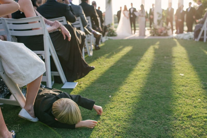 Ring Bearer Down! :) || Lisa Stoner Events || Jordan Weiland Photography