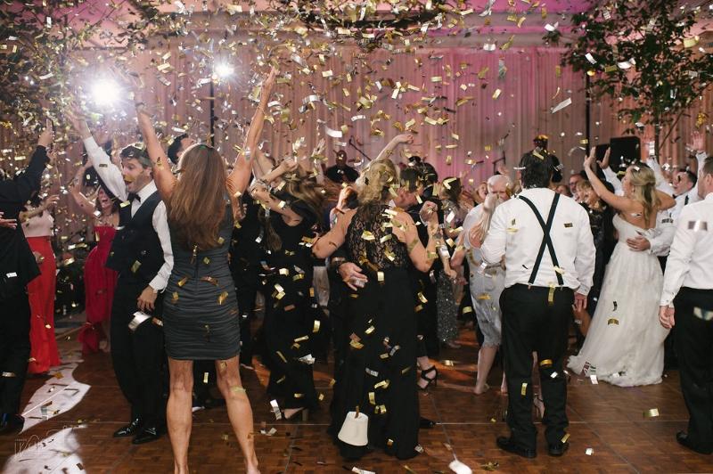 Confetti Blast || Lisa Stoner Events || Ritz Carlton Orlando Wedding || Jordan Weiland Photography