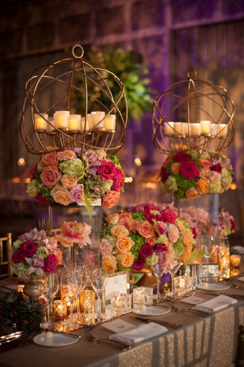 Lisa Stoner Events - Orlando Luxury Weddings - Four Seasons Orlando -  Wedding - Garden Wedding - modern wedding - modern centerpieces .jpg