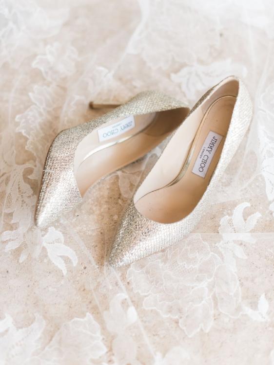 Lisa Stoner Events - Luxury Central Florida Weddings - Orlando Weddings - Classic Southern Wedding - Winter Park -Jimmy Choo  - wedding shoes.jpg