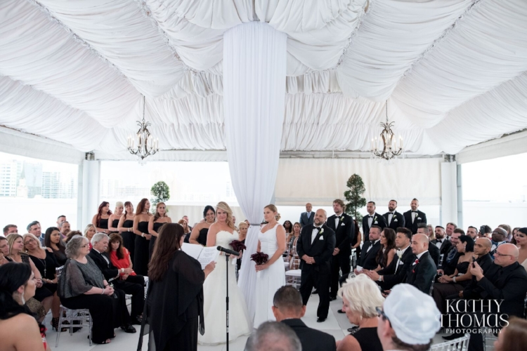 Lisa Stoner Events - Luxury Weddings - Orlando Weddings - Grand Bohemian Hotel - black tie wedding - same sex wedding - Marriage Equality  - Wedding Planner - modern wedding - two brides - roof top wedding ceremony.jpg