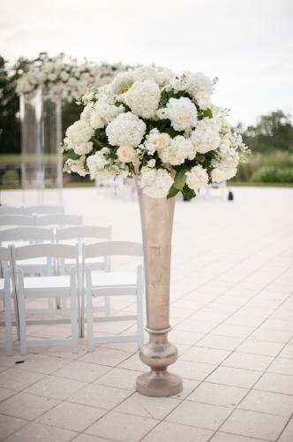 Lisa Stoner Events - white aisle arrangement- Orlando Destination Wedding Planner - Waldorf Astoria Orlando - wedding.jpg