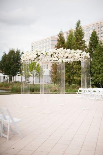 Lisa Stoner Events- Orlando luxury weddings-wedding ceremony decor- white ceremony decor - clear chuppah.jpg