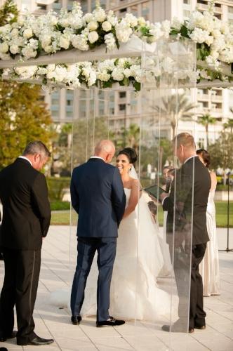 lisa stoner events- waldorf astoria wedding ceremony- outdoor orlando wedding- orlano white wedding details-wedding vows.jpg
